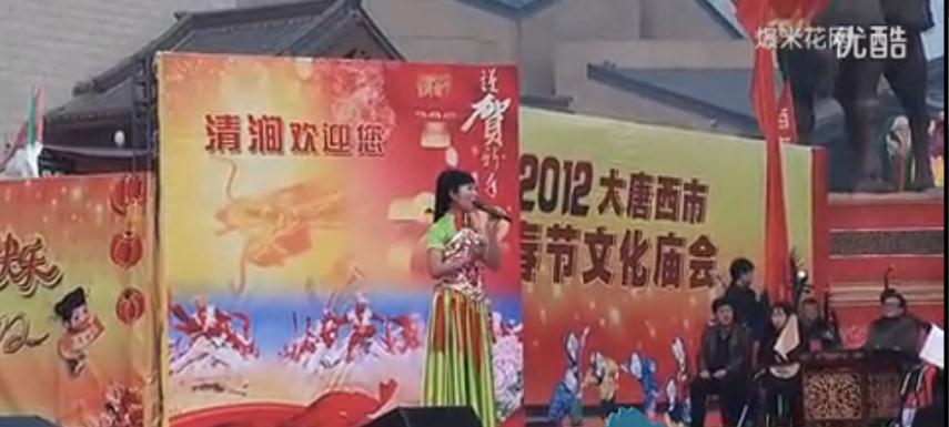陕北民歌《清涧我可爱的家乡》(高清)